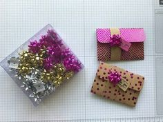 Fun Gift Card Holders with Foil Frenzy Specialty DSP — P.S. Paper Crafts