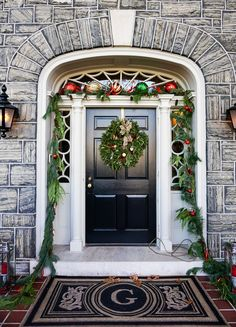 Holiday doors of Frederick MD