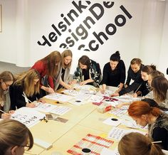 Teaching at Helsinki Design School