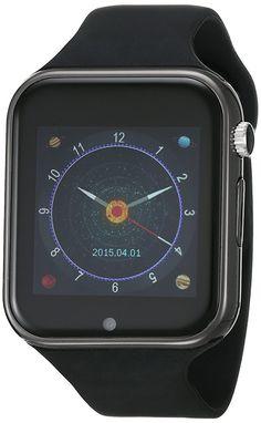 Tech Pad SW1 Smart Watch, Sistema Operativo Nucleus, Procesador Mediatek MTK 6260 a 360 MHz, Memoria Interna de 64MB (expandible hasta 32GB), negro: Amazon.com.mx: Oficina y papelería