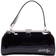 Check out this item on The Violet Vixen Bettie Page Cover Girl Purse Black #thevioletvixen