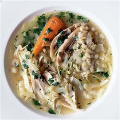 Pot au feu recipe - This tasty French-inspired chicken recipe is low in calories, fat and salt.