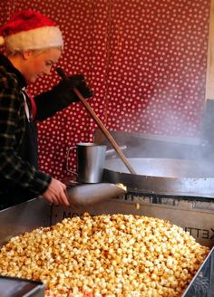 Canadian kettle corn extreme