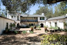 Historic libbey ranch 1923 wallace neff architect for The ranch house in ojai