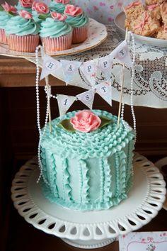 Fake cake idea