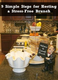 9 simple steps for a stress-free brunch party