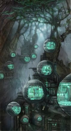 4 alien cities