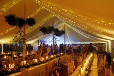 Impressive marquee lighting effects Marquee Wedding, Tent Wedding, Country Style Wedding, Wedding Decorations, Wedding Ideas, Fairy Lights, Lighting Ideas, Light Up, Summer Wedding