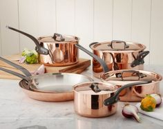 Copper Pots and Pans For the Kitchen - Columbia CabinetWorks