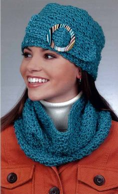 Staying warm and looking stylish can be one and the same thing! These 14 scarves, hats, and cowls to crochet with various weights of yarn are fashionable accents, perfect for any wardrobe. The scarves
