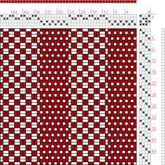 Hand Weaving Draft: 24279, 2500 Armature - Intreccio Per Tessuti Di Lana, Cotone, Rayon, Seta - Eugenio Poma, 4S, 4T - Handweaving.net Hand Weaving and Draft Archive Weaving Designs, Weaving Projects, Weaving Patterns, Knitting Designs, Knitting Tutorials, Knitting Patterns, Tablet Weaving, Loom Weaving, Hand Weaving