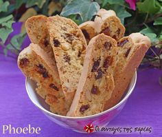 Biscotti+με+αμύγδαλα+#sintagespareas Greek Recipes, Vegan Recipes, Cooking Recipes, Biscotti, Greek Cake, Italian Biscuits, Greek Sweets, Cheesecake Brownies, Biscuit Recipe