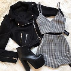 Best Butt Workout, Workout 33 new summer outfits for women's fashion + Fascinating Summer Outfits You Must Wear This Summer + Fascinating Summer Outfits You Must Wear This Summer Girls Fashion Clothes, Teen Fashion Outfits, Edgy Outfits, Mode Outfits, Retro Outfits, Cute Fashion, Outfits For Teens, Fall Outfits, Summer Outfits