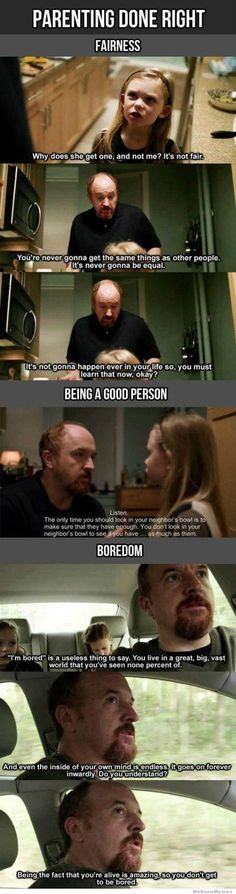 Louis C.K. Parenting done right.