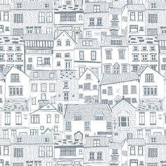 Jessica Hogarth #surfacepattern #repeatpattern Coastal Cottages building…