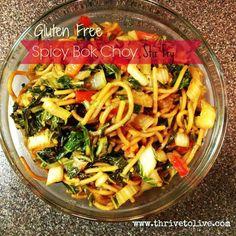 Spicy Bok Choy Stir Fry | Thrive: Faith, Family & Food