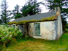 abandoned cottage.Inishowen.county donegal
