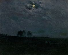 Charles Harold Davis, A Summer Night, ca. 1910, Montclair Art Museum
