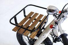 Honda Cub Deus Sea Sider by Deus Motorcycles - Honda Motorcycles, Custom Motorcycles, Custom Bikes, Honda Cub, Motorcycle Outfit, Motorcycle Bike, Ex Machina, Hot Bikes, Mini Bike
