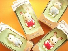 Kawaii Sylvanian Families Baby Rabbit & Baby Cat DollsToy Japan by Kawaii Japan, via Flickr