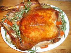 Cooking with love  !: Curcan la cuptor ( Roasted Turkey )