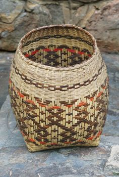Traditional Rivercane Basketry with Emma Jackson Garrett & Peggy Patrick at the John C. Campbell Folk School | folkschool.org
