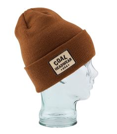 Coal The Uniform + fleece lined beanie Headgear 2371a1506857
