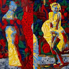 Forever Marilyn #3 Paintings by Werner Horvath