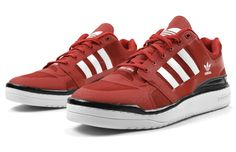 adidas Forum Low Crazy Light Scarlet/White
