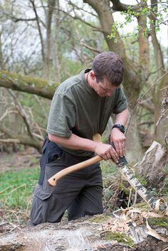 Develop a range of axe techniques