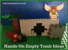 Hands-On Empty Tomb Ideas for kids #easter