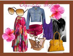 """Apostolic Style Summer Lovin'"" by emmyholloway on Polyvore"