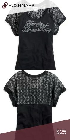Women's Harley Davidson Top New with tags. Super cute and comfy Harley Davidson  Tops Blouses