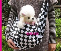 New PET BAG Cozy Cradle Sling Small Animal Carrier Cat Dog Bunny Travel Tote « dogsiteworld.com
