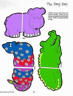 Animal match file fold folder game 2/3: