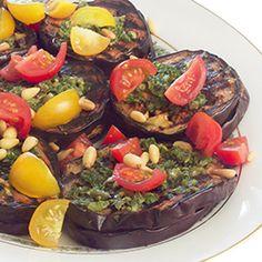 Balsamic Grilled Eggplant #eggplant #recipe #food