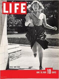 Life Magazine - 6.26.39 - Girls' New Fads