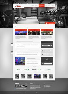 Delta Sportpark - Screendesign by ~Super-Designs on deviantART #webdesign
