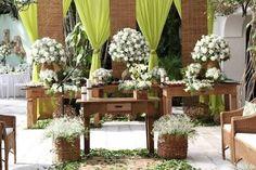 Resultado de imagem para decoração de casamentos históricos