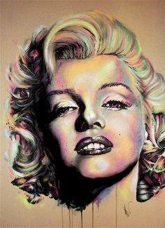 Monroe by ~Flashback33 on deviantART  | This image first pinned to Marilyn Monroe Art board, here: http://pinterest.com/fairbanksgrafix/marilyn-monroe-art/ || #Art #MarilynMonroe