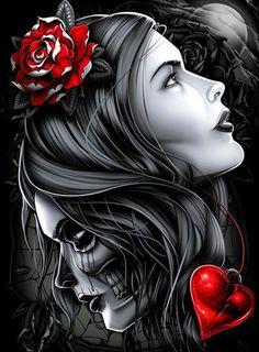 ♥Salve Rosa Caveira!