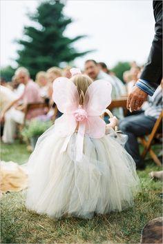 flower girl dress designed by Posh Little Tutus
