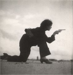 - Photo of female guerilla fighter during the Spanish Civil War. Taken by Gerda Taro.