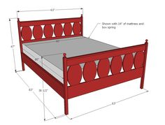 Ana White | Build a Ovals Bed | Free and Easy DIY Project and Furniture Plans