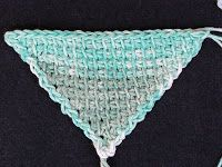 I wonder how many crocheters are aware of small refinements they can make at row edges to improve an angular shape, such as a triangle? I wa...