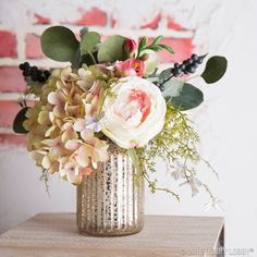 """This DIY bouquet is perfect for the day you say """"I do!"""""""