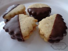 Vaflové cukroví plněné Christmas Sweets, Christmas Time, Pudding, Cookies, Baking, Cheesecake, Breakfast, Desserts, Food