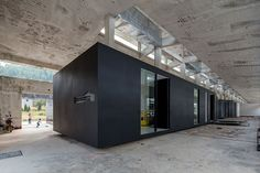 o-office turns an abandoned factory into iD town