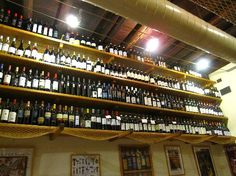 ROME ~ Cul de Sac Wine Bar (Located around the corner from Piazza Navona): Order wine and a cheese/meat plate... sounds like it's a good idea to avoid actual meals.  Outside also sounds like a good option.