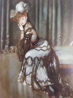 Antonio de la Gándara (1862-1917) - Portrait de Madame Rémy Salvator, 1900-02